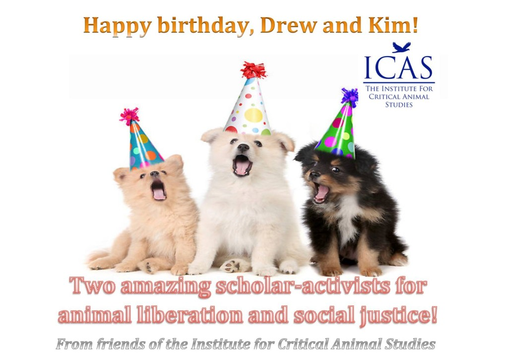 happy birthday Kim and Drew