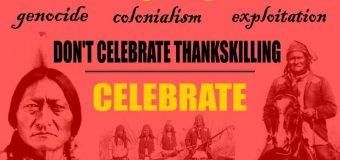Boycott Thanksgenocide – November 22, 2018 – United States