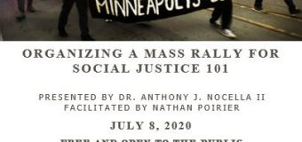 July 8, 2020 – How to Organize a Mass Rally for Social Justice