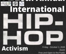 ICAS Co-Sponsors 6th Annual International Hip Hop Activism Conference – Oct. 2, 2020
