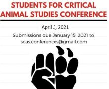 April 3, 2021 – 6th Annual Students for Critical Animal Studies Conference