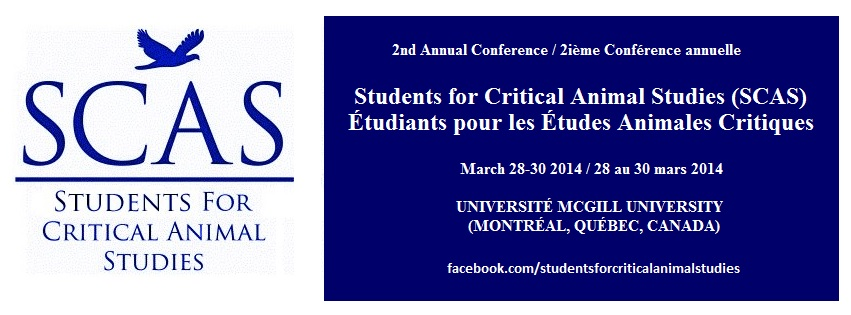 2nd Annual Student Conference for Critical Animal Studies