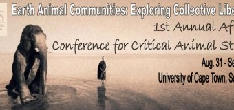 Old Repost: 2013 1st Annual Conference for Critical Animal Studies