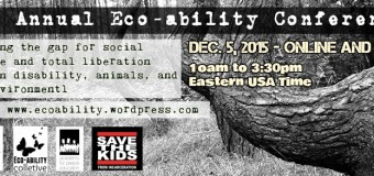 3rd Annual Eco-ability Conference co-sponsored by ICAS