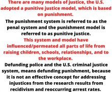 Why Defunding the Criminal Justice System?